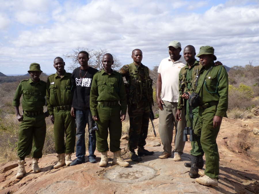 born free and kws ranger team