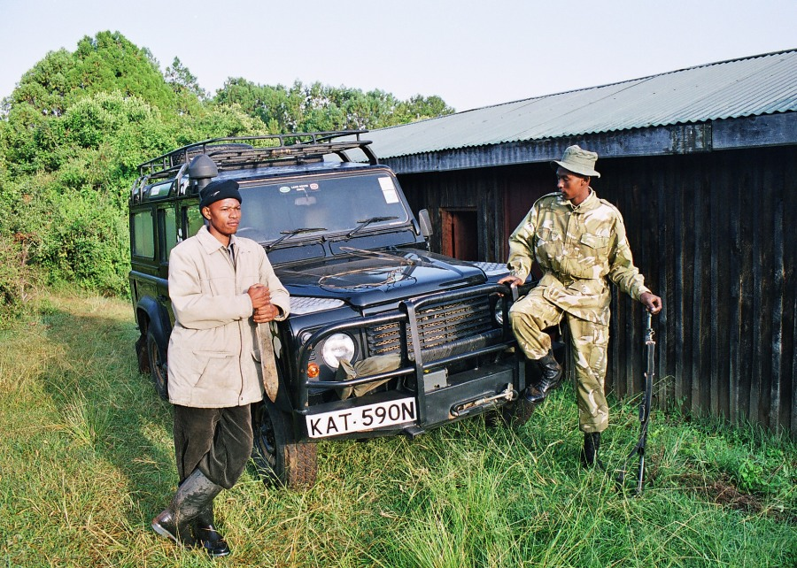 kws and born free and land rover together