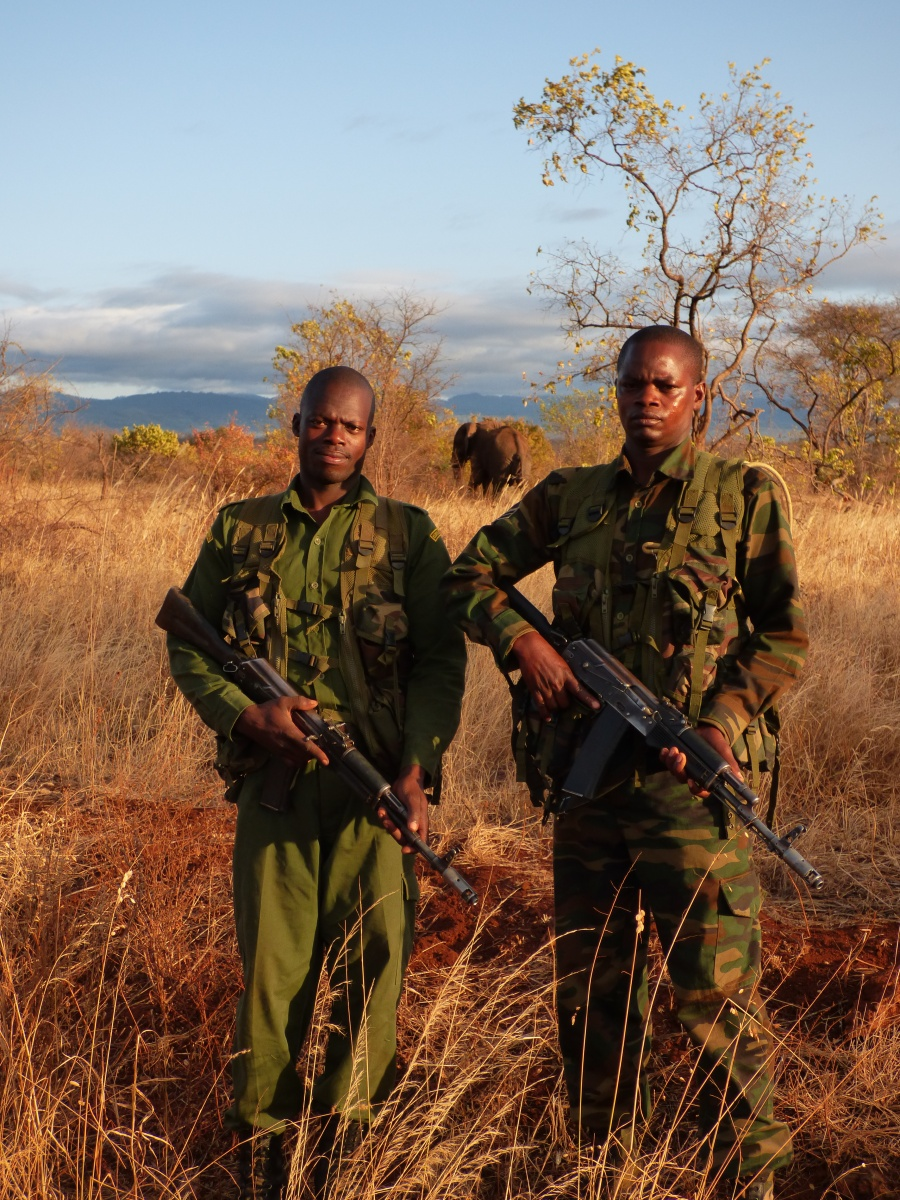 kenya wildlife service rangers charo and timothy