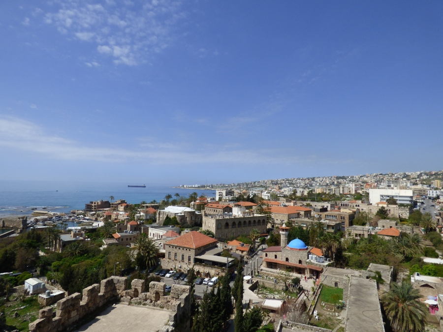 the ancient town of Byblos